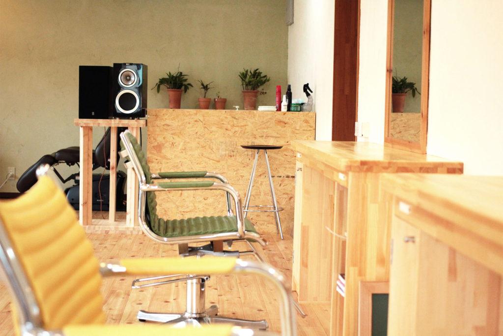 studio H.Q. 店内